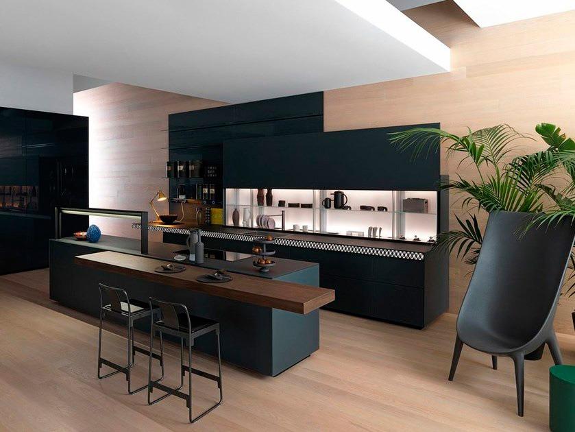 cocinas de madera integradas