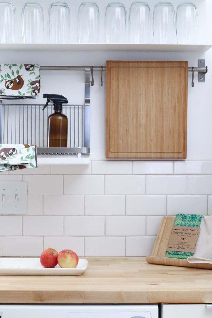 Consigue espacio en tu cocina con estos sencillos trucos
